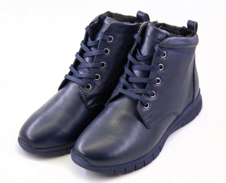Жіночі черевики Canilh 3530 (Сині)